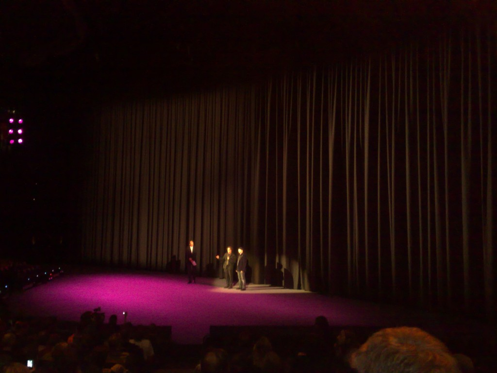 Berlinale presenter, director Davis Guggenheim, The Edge