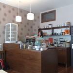 "Cafè ""Frau Paul"" in der Hans-Otto-Straße, Berlin"