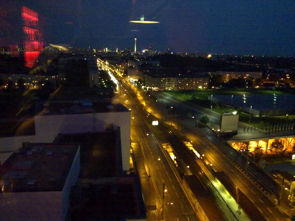 Sicht auf Berlin's Innenstadt